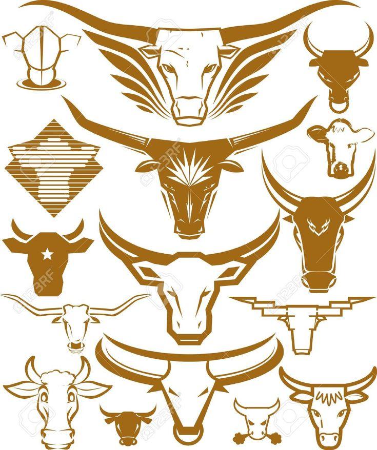 25 best longhorn tattoo ideas on pinterest. Black Bedroom Furniture Sets. Home Design Ideas