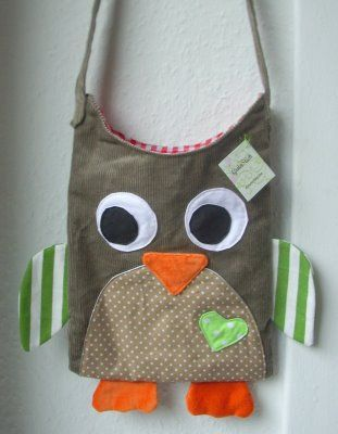 Another cute book bag macou