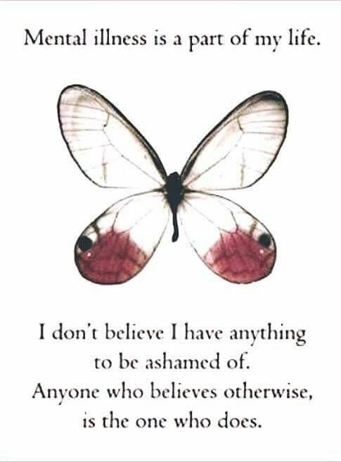 I have nothing to be ashamed of.