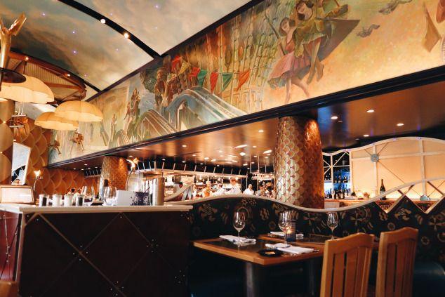 Good Food, Good Karma.   Walt Disney World- The flying fish cafe