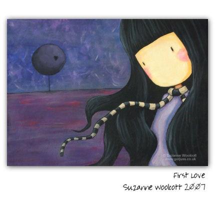 "gorjuss - suzanne woolcott // ""First Love"""