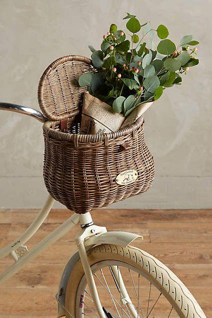 Wiscahisset Bike Basket - anthropologie.com