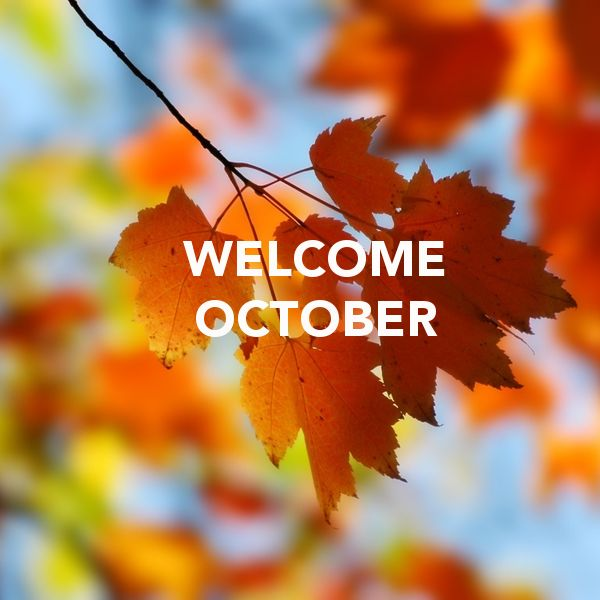 Welcome October   october hello october october quotes welcome october october images