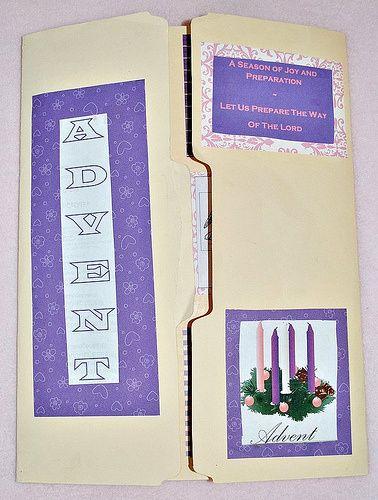 Advent Lapbook (Printable)