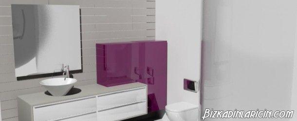 Mor Banyo Örnekleri 2015 - http://www.bizkadinlaricin.com/mor-banyo-ornekleri-2015.html  Modern görünümlü bir banyo yaptırmak istiyorsanız, mor banyo örnekleri 2015 resim galerimizi incelemenizi öneririz. Mor banyoyu dekore ederken dilerseniz mor renk ağırlıklı döşeyebilir yahut mor renk ile uyumlu renklerle kontrast oluşturabilirsiniz.             #BanyoDekorasyonu, #MorBanyo #Dekarasyon