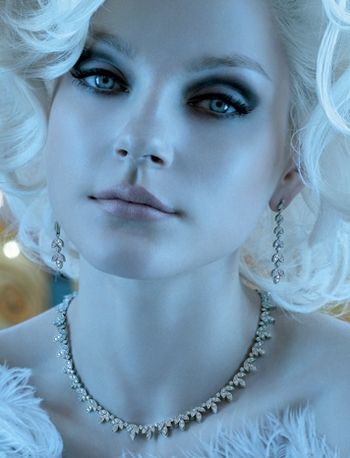 Canadian model, Jessica Stam.