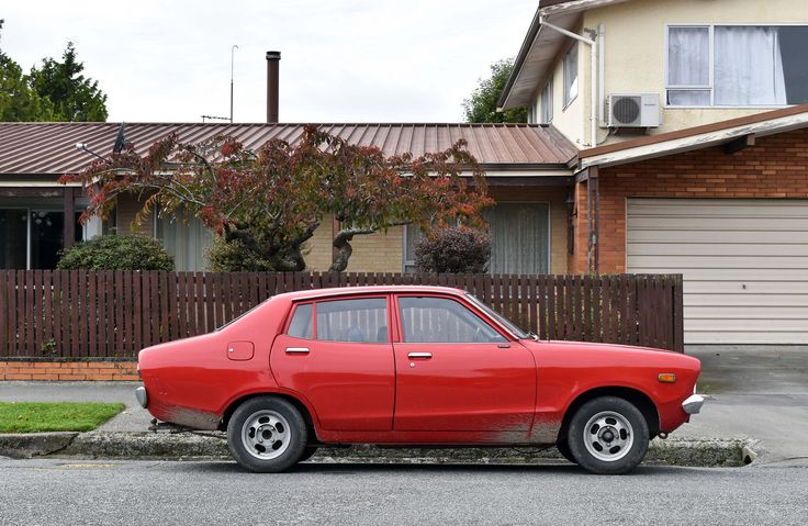 https://flic.kr/p/UDR5sc | 1975 Datsun 120Y | The Cars of Christchurch, New Zealand