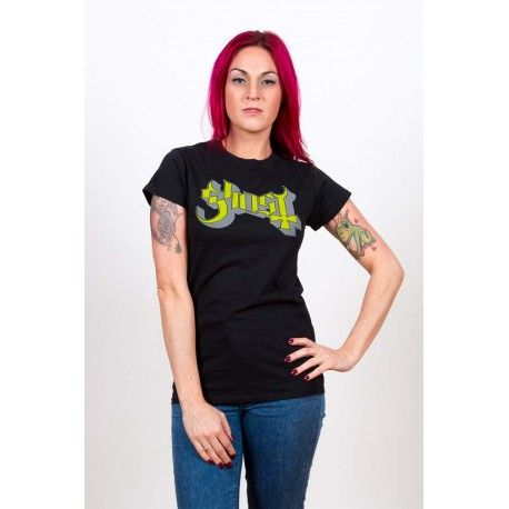 Ghost: Green/Grey Keyline Logo (Tricou dama)