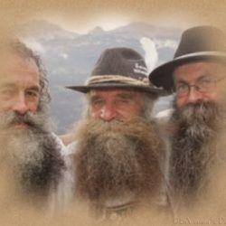 tres viejitos de barba