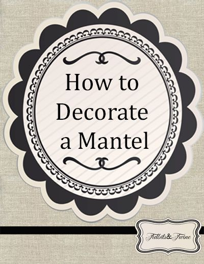 Great TUTORIALS on how to decorate mantles and vignettes and bookcases. Fab!!!