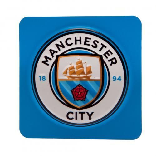 3D Manchester City fridge magnet in club colours and featuring the NEW club crest. FREE DELIVERY on all of our gifts