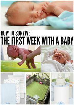 how to survive the first week with a baby