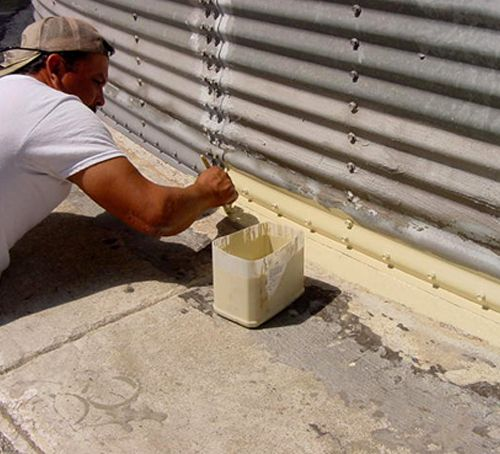 Grain Bin Waterproofing & Repair