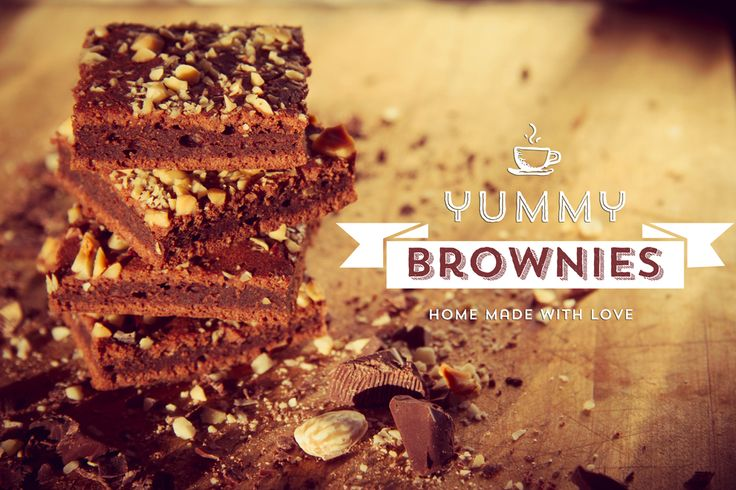 Yummy brownies and great photo!
