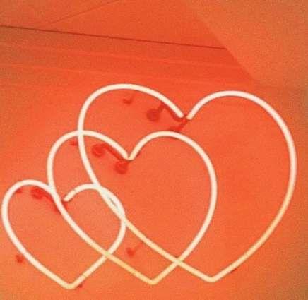 Neon Red Aesthetic Wallpaper