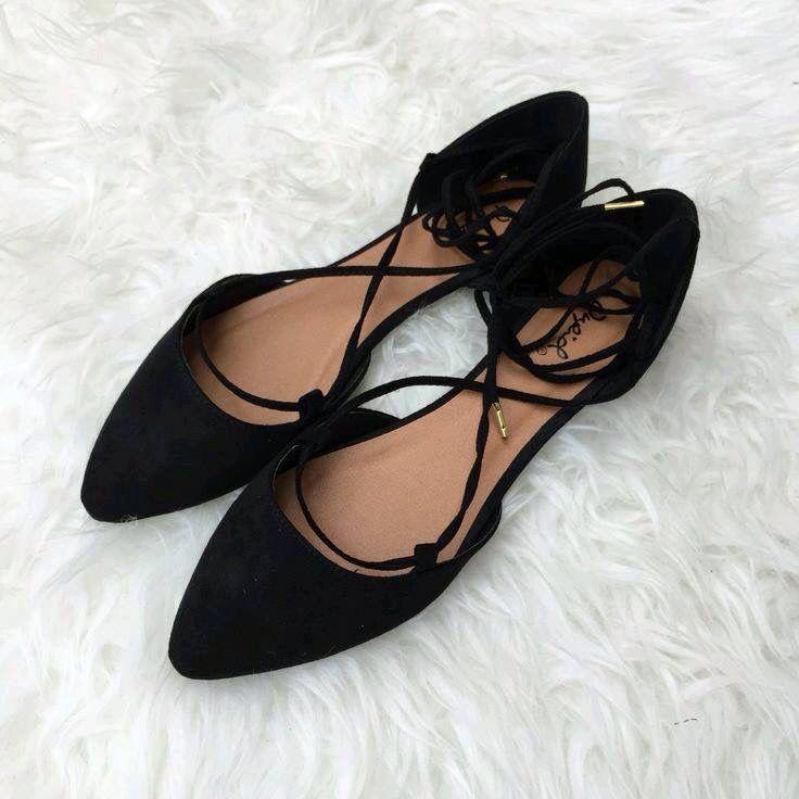 Flats negras