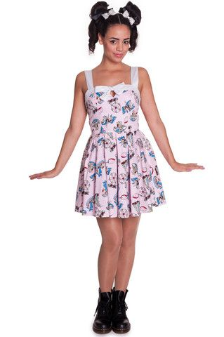 Ladies Dress - Hell Bunny Funfair Mini – PoisonKandyKlothing
