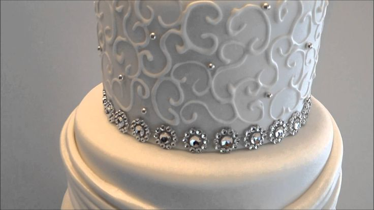The 20 Best Wedding Cakes With Bling Images On Pinterest