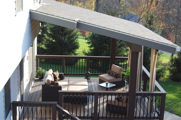 Put A Roof Over The Deck Sun Rooms Covered Patios
