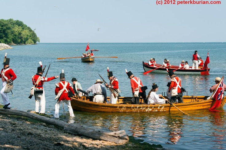 War of 1812 reenactment ~ Niagara on The Lake, Ontario