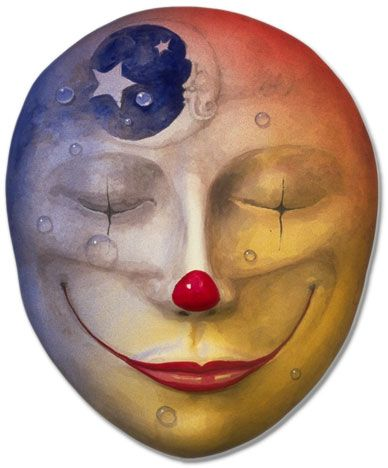 What i see in the Mirror of my Soul - Chakras and Clowns!