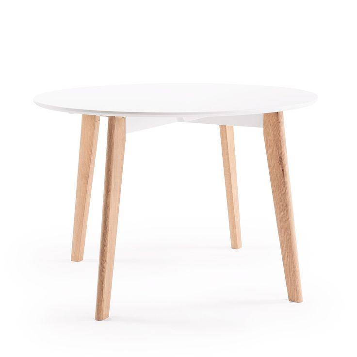 Look 110 matbord, ek/vit i gruppen REA / Rea hos RUM21.se (123602)