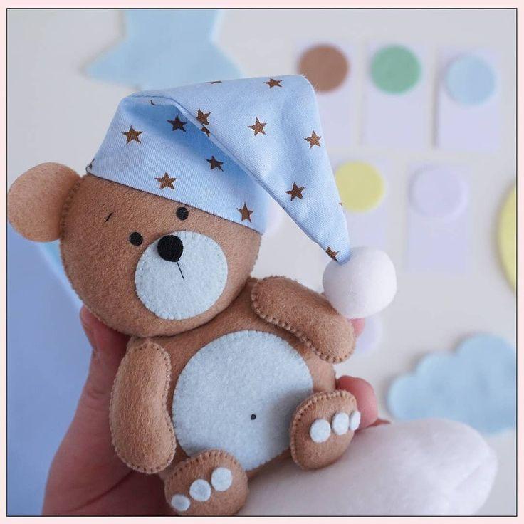 открытка медвежонок из фетра прическу совершенства
