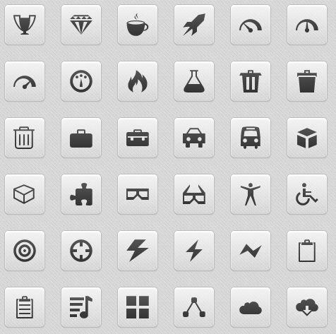 IcoMoon - Free Icon Font, 315 Icons