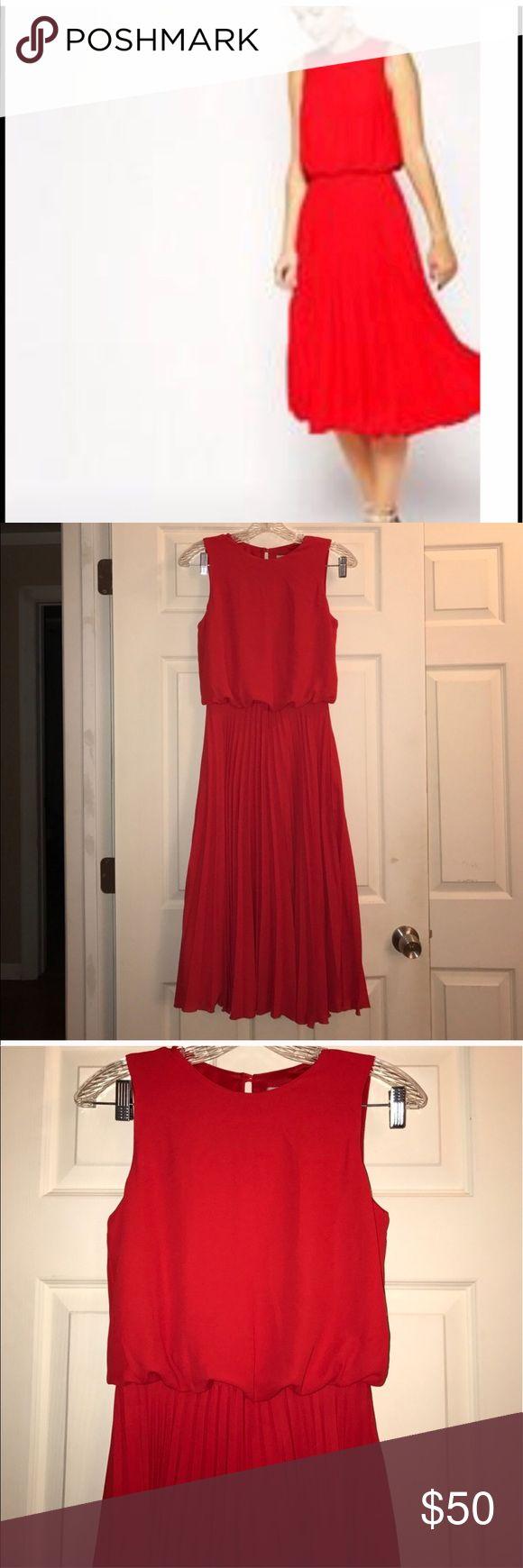 ASOS red dress So cuteness just isn't my color Asos Dresses Midi