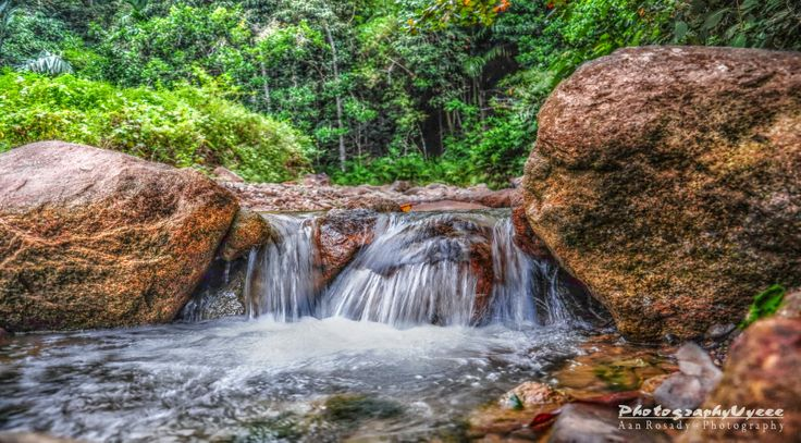 Stone river at Hang Mui River Stone - 03   Singkawang Town - West Borneo