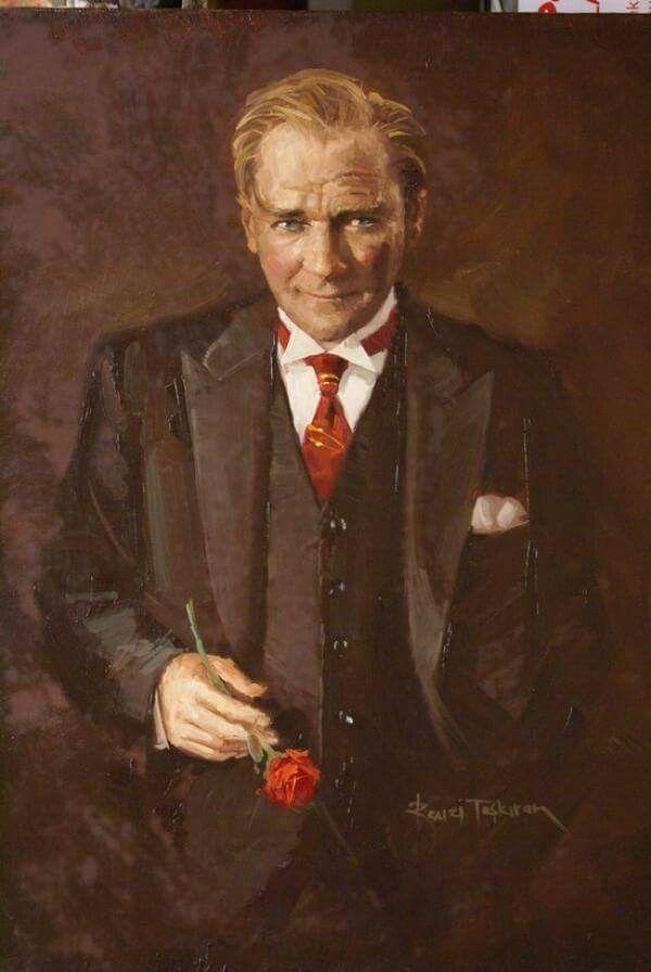 Remzi Taşkıran Atatürk portresi