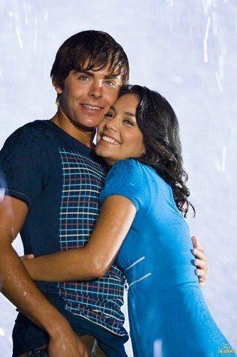 Troy and Gabriella, High School Musical 2. ❤️