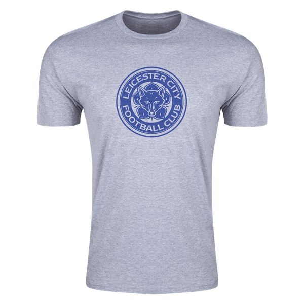 Leicester City FC Supersoft T-Shirt (Gray)