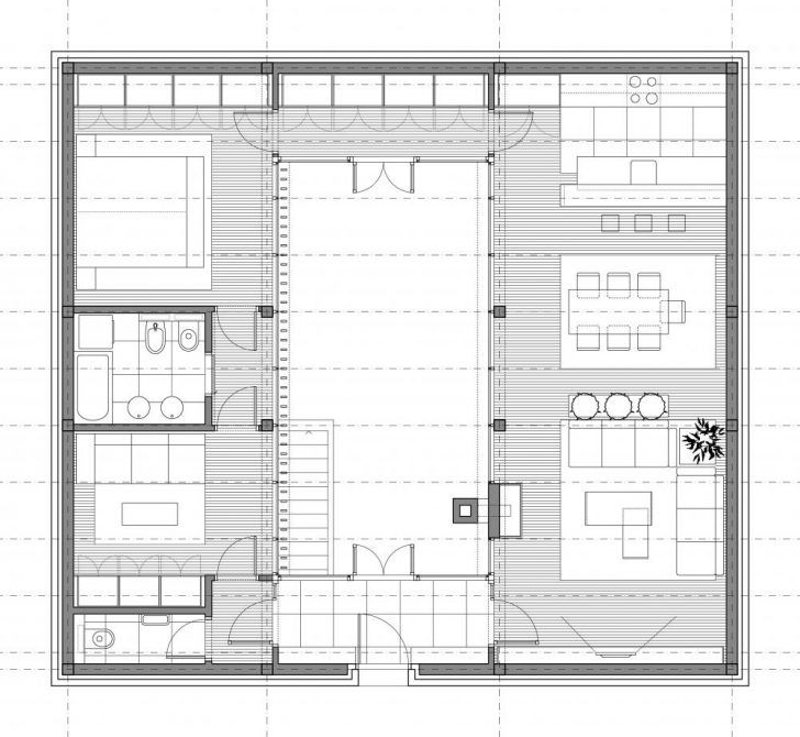 Inspiring House Plans With Atrium In Center Images - Best idea ...