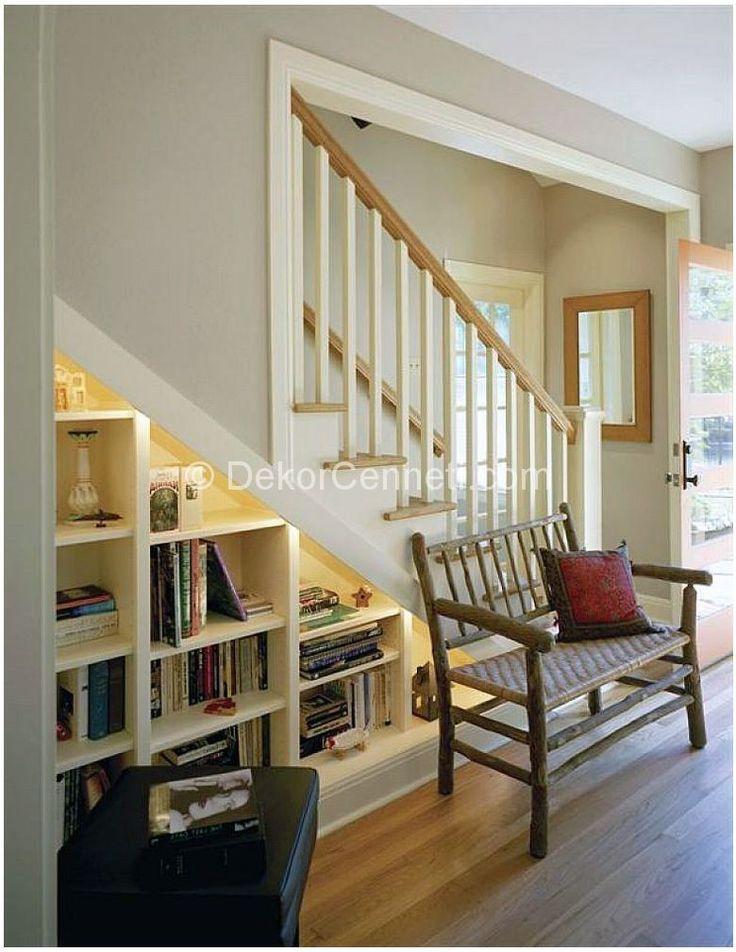 Smart Decoration with Under Stair Storage