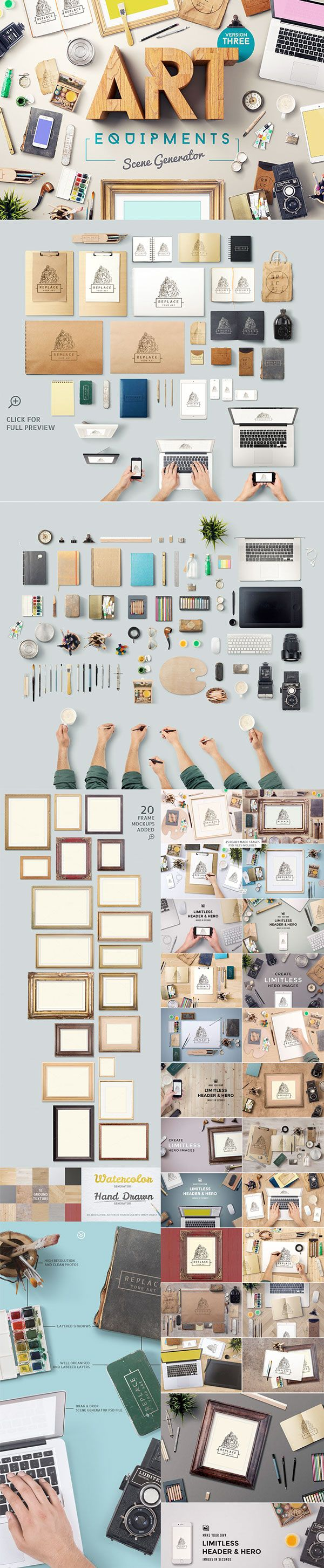 The Gorgeous, Artistic Design Bundle on Behance