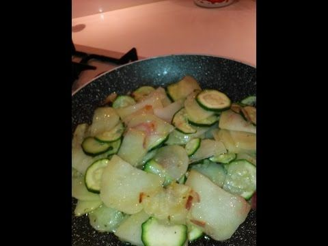 Il Blog di Elisabetta: Contorno di zucchine, patate e cipolla rossa home-...