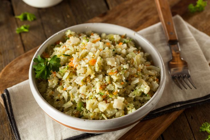 [Fast Eddie's Healthier Food Option] FRIED RICE FRIED RICE  Ok how about Chicken and Cauliflower Fried Rice Most of us enjoy fried rice and this is a great healthier option. Its simple and I cant wait to get a bowl full. Give it a try and let me know what you think...