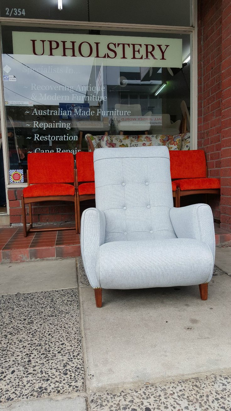 Retro Sleepy Hollow ARM Chair BEAUTIFUL RETRO SLEEPY HOLLOW ARM CHAIR. HAS BEEN RE-UPHOLSTERED IN  WARWICK FABRIC: BEACHCOMBER  -  ASH.  THIS CHAIR HAS BEEN FULLY RESTORED. EXCELLENT CONDITION.  $750