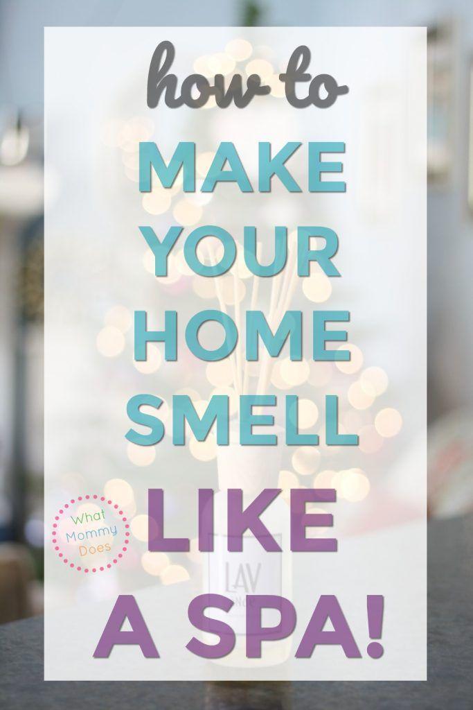 how to make your stinky house smell like a spa essential oils rh pinterest com