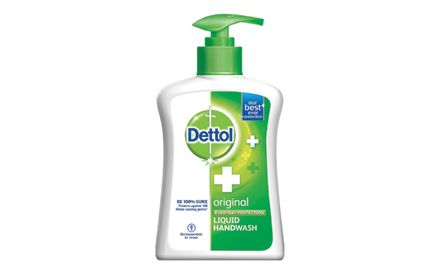 Get a Dettol Soap 75g free with Dettol handwash liquid original pump (225ml/250ml). Valid at all super markets.
