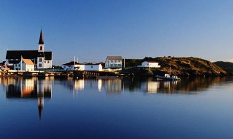 the beautiful landscape of Newfoundland and a beautiful article as well!