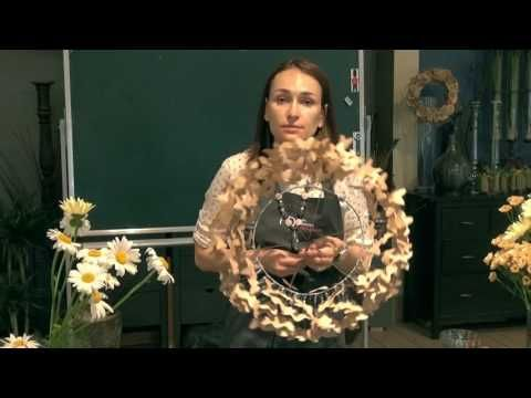 Мастер-класс создание летнего букета - YouTube