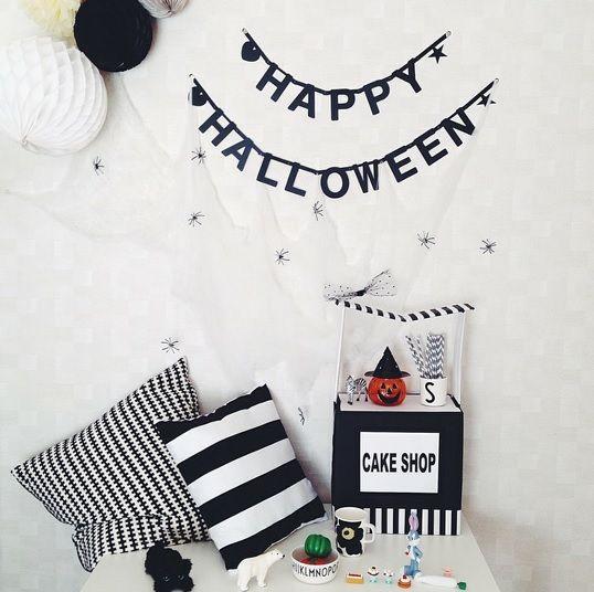 #Wordbanner #tip: Happy #halloween - Buy it at www.vanmariel.nl - € 11,95, 2 for € 20