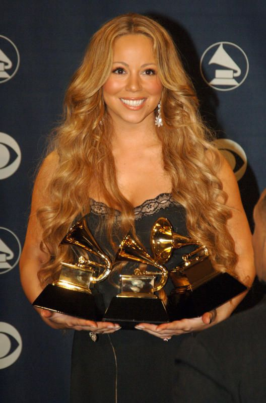 Mariah Carey, Grammys - Mariah Carey's life in pictures