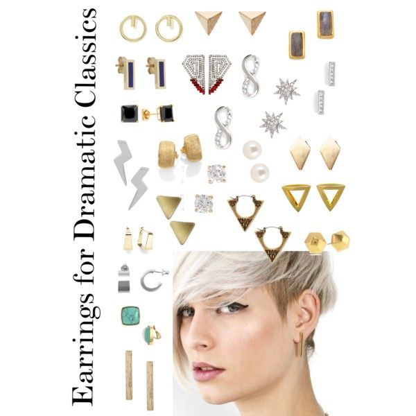 Dramatic classic earrings - Google Search