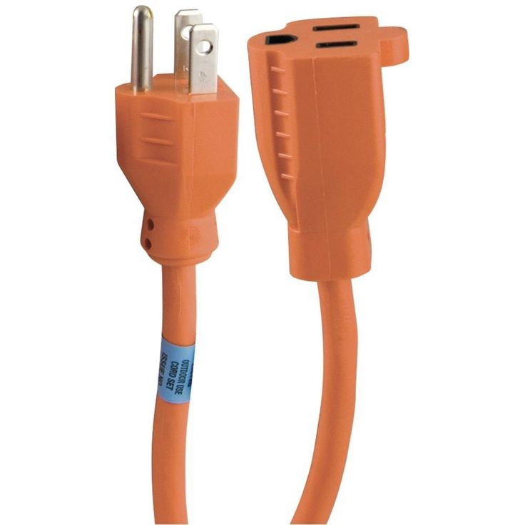 GE 51924 1-Outlet Indoor-Outdoor Extension Cords (25ft)