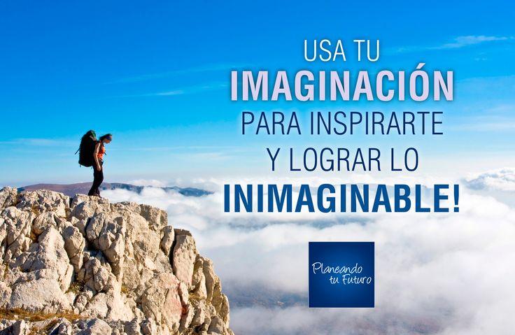 Usa tu imaginación para inspirarte y lograr lo inimaginable