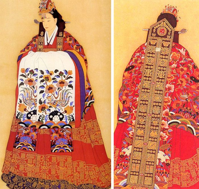 오리미한복 :: 전통 화관 _ 조선시대 신부를 빛내던 예관