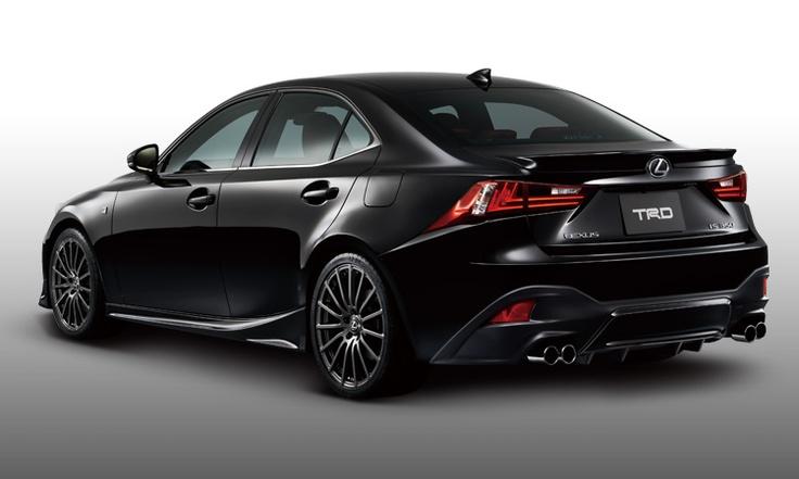 2014 Lexus IS F Sport with Japanesespec TRD body kit